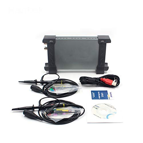 SISHUINIANHUA 6022BE Laptop PC USB Digital Storage Virtual Oscilloscope 2 Channels 20Mhz Handheld Portable