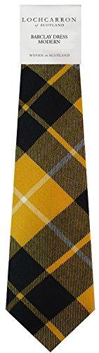 I Luv Ltd Gents Neck Tie Barclay Dress Modern Tartan Lightweight Scottish Clan Tie