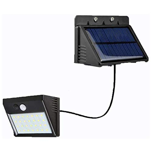 YKSO 30 LED Luz Solar Cuerpo Humano Inducción Luz de Pared Sensor de Movimiento Lámpara de Calle Luz de Inducción