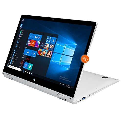 Winnovo Laptop Computer 13.3 inch 2 in 1 Touchscreen Convertible