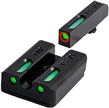 TRUGLO TFX Pro Tritium and Fiber Optic Xtreme Handgun Sights for Taurus Millenium G2, 709 Slim, 740 Slim, Black, One Size