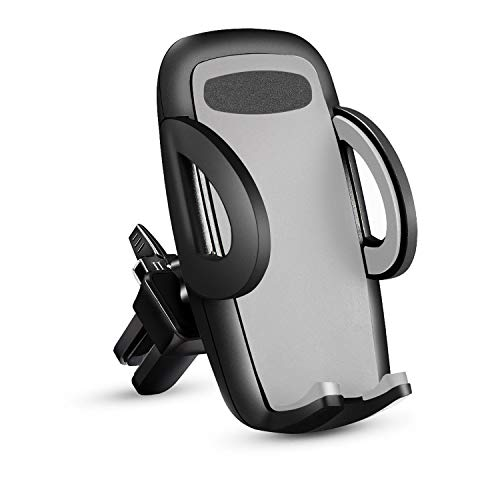 Car Phone Mount Holder,Adjustable Cradle Car Air Vent Phone Holder,Compatible with Almost All Smartphones Including iPhones, Samsung, Google, Nexus, OnePlus and More,One Button Release,Rotatable