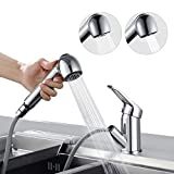 BONADE Wasserhahn Armatur mit ausziehbarer Brause Küchenarmatur 360° Schwenkbereich Spültischarmatur