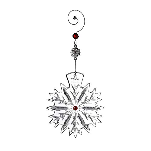 Waterford 2020 Snowflake Wishes Love Ornament 2020