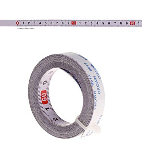 1/2/3/5M Cinta métrica autoadhesiva de cinta métrica de acero métrico medida de la cinta métrica - 3 m, medio