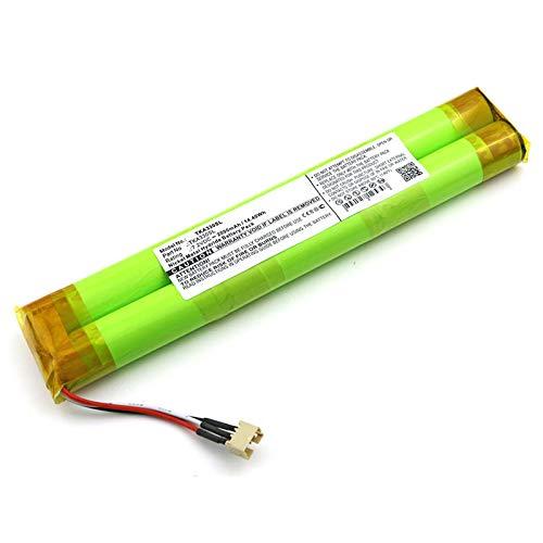 subtel Batería de Repuesto Compatible con TDK Life On Record A33, 2000mAh Accu Altavoz, Speaker Battery