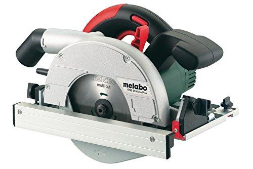 Metabo Handkreissäge KSE 55 Vario Plus (601204000) Karton, Nennaufnahmeleistung: 1200 W, Abgabeleistung: 700 W, Max. Schnitttiefe bei 90°: 55 mm