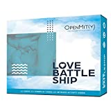 OpenMity Love Battleship - Fun & Romantic Couple Bedroom Game, Date Night Box - Great Valentines, Anniversary, & Wedding Gift for Couples