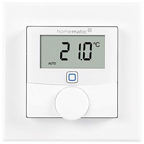 ELV Homematic IP Komplettbausatz Wandthermostat HmIP-WTH-2, für Smart Home/Hausautomation