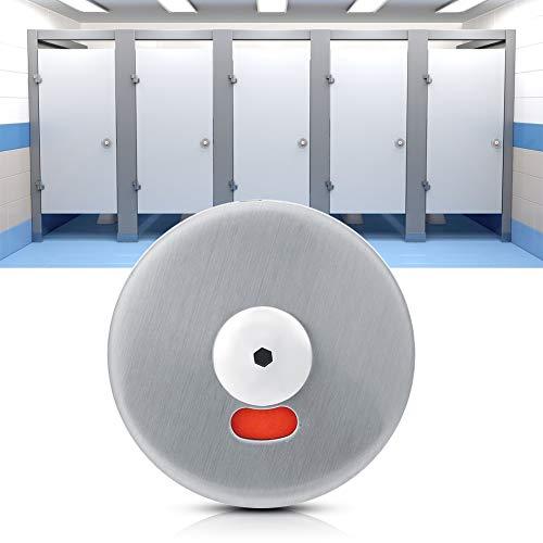 Indicating Door Lock, User-Friendly Door Lock Indicator 12-18mm Stainless Steel Made for Bathroom Wc Public Restroom Toilet