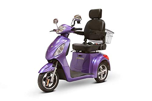 Find Discount 3-Wheel Scooter with Electromagnetic Brakes in Lavender