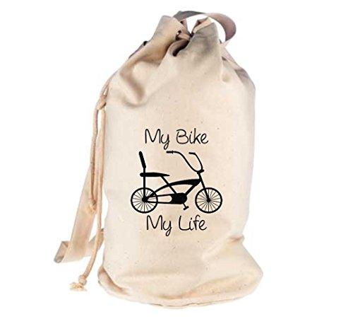 Unbekannt Seesack Fahrrad bike Rad Bonanza BMX Kult Gymsack Kultsack natur