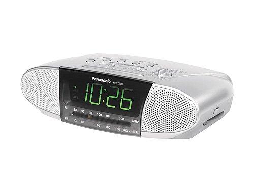 Panasonic RC-7290E-S Uhrenradio silber