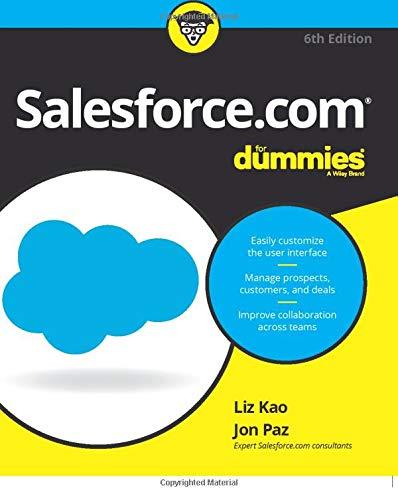 Salesforce.com For Dummies (For Dummies (Computer/Tech))