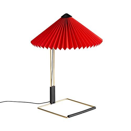 HAY Matin LED Tischleuchte S Rot, 38cm