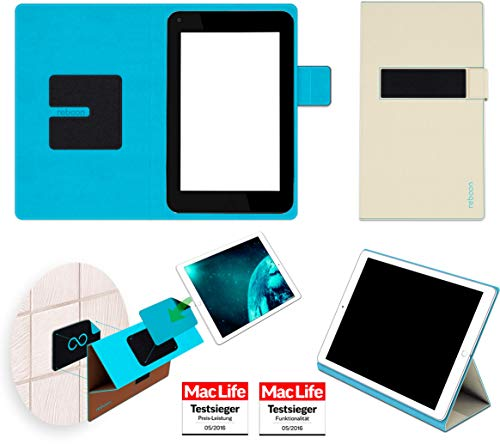 Hülle für HP Slate 7 Plus Tasche Cover Hülle Bumper | in Beige | Testsieger