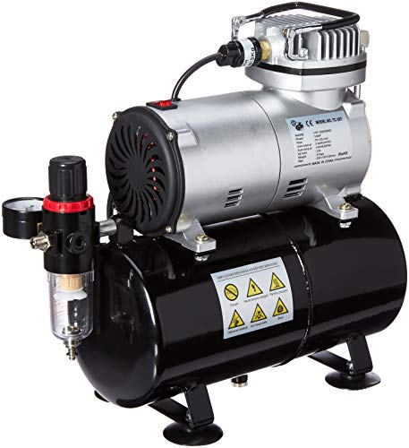 Master Airbrush 1/5 HP Compressor with Air Storage...
