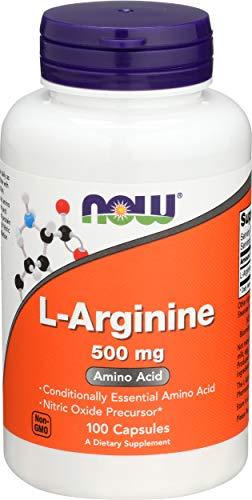 NOW Foods L-Arginine, 500mg - 100 Capsules