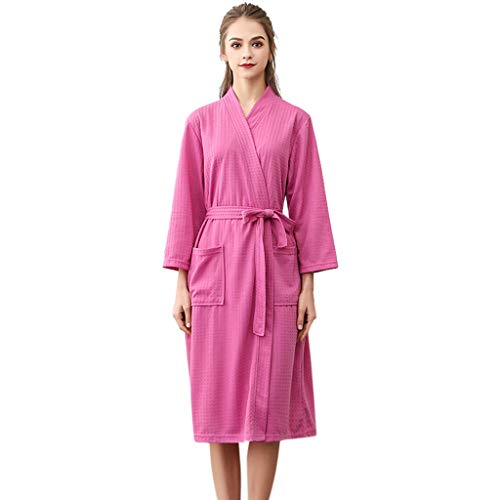 Heren dames badjas unisex ochtendjas lange vrouwen hoofdkleding mantel mannen warm pyjama wikkeljurk pyjama met zakken