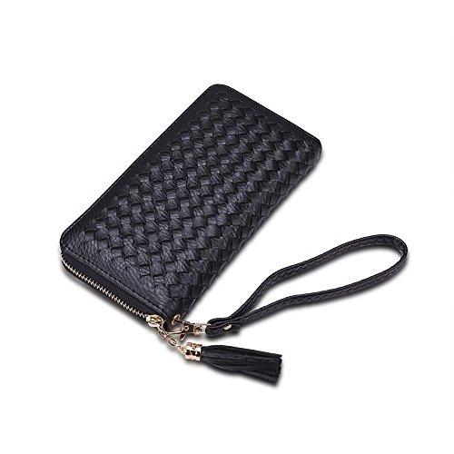 Fayting EU Portafoglio donna borsellino PU pelle rete vari colori da scelto carte borsellino portafoglio da banchetto buon regalo