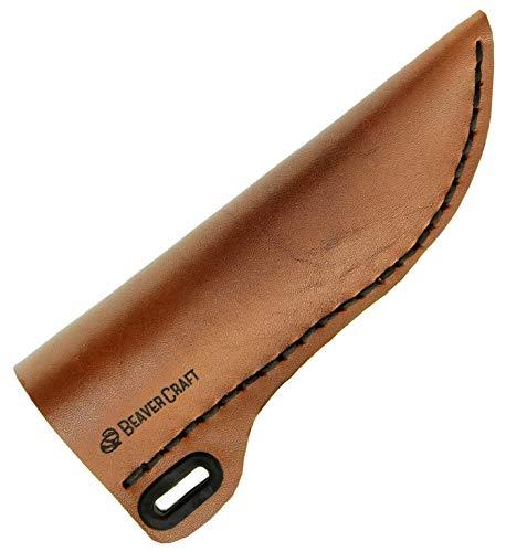 BeaverCraft Knife Leather Sheath SH1 6' x...
