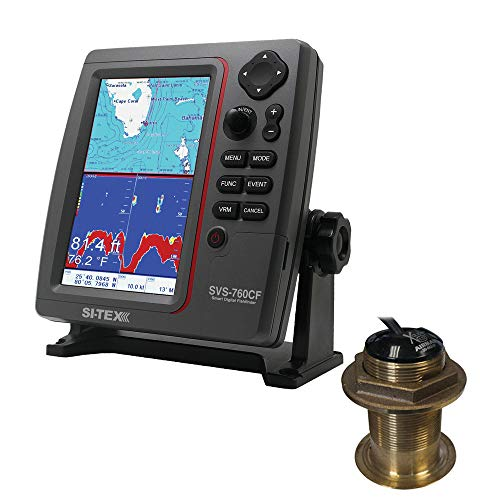 Buy Si-tex SVS-760CF Dual Frequency Chartplotter/Sounder 600W Kit w/Bronze 20 Degree