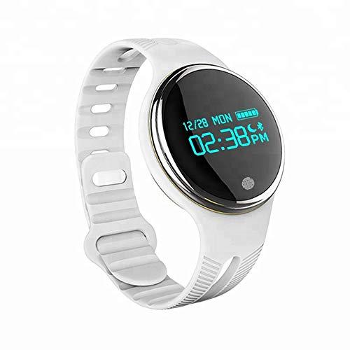 MEISHENG E07 electrónica Pulsera sueño Pista Deporte Inteligente Reloj de Fitness,White