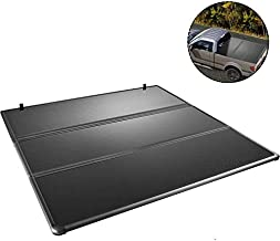 VEVOR Hard Truck Bed Cover, Tonneau Cover for Ford F150, Tri-Fold Auto Truck Bed Tonneau Cover, Hard Truck Topper, Fits 2009-2021 Ford F-150 Styleside 5.7ft Bed