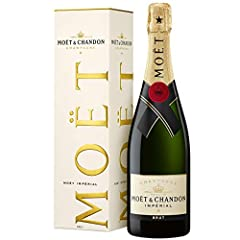 Moet & Chandon Brut Impérial Champagne z opakowaniem prezentowym (1 x 0,75 l)