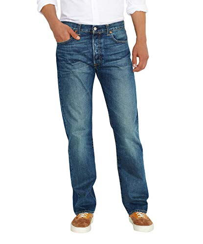 Levi's Herren 501 Original Straight Fit Jeans, Blue 1589, 38W x 34L