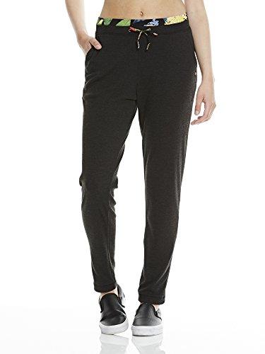 Bench Damen Hareem Pant Jogginghose, Black Marl, XS
