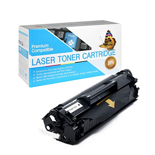 SuppliesOutlet Compatible Toner Cartridge Replacement for HP 12A / Q2612A (Jumbo Black,1 Pack)