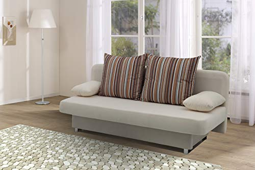 *Collection AB Orlando – 186 x 85 cm, Mikrofaser, beige*