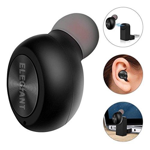 Mini Bluetooth Earbud, Bluetooth Earpiece Earphone Car Headset Single in-Ear...