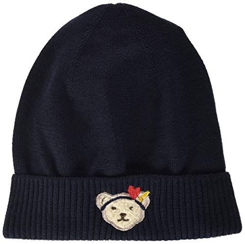 Steiff Mädchen Mütze Hut, Navy, 37