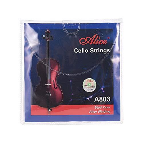 Traje de cuerdas violonchello 3/4-4/4 A803 Anima acero