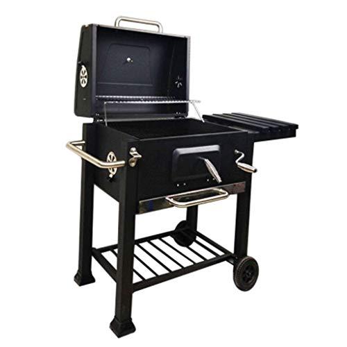 Barbecue Binnenplaats, Terras, Business Club Houtskool Grill Rechthoekig Vouwen Royale Doos Draagbare RVS Grill HAODAMAI