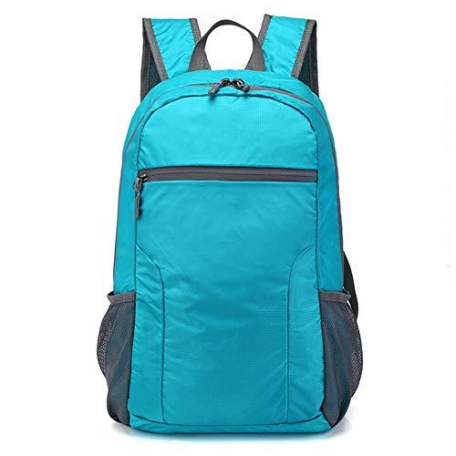 CGMZN Sac à Dos 25L Foldable Backpack Waterproof Outdoor Backpack Sports Cycling Bag Camping Hiking Climbing Rucksack Travel Handy Bag Daypack