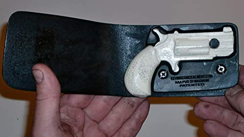 Wallet Holster for Full Concealment - NAA Pug 22mag (Black, Right Hand)