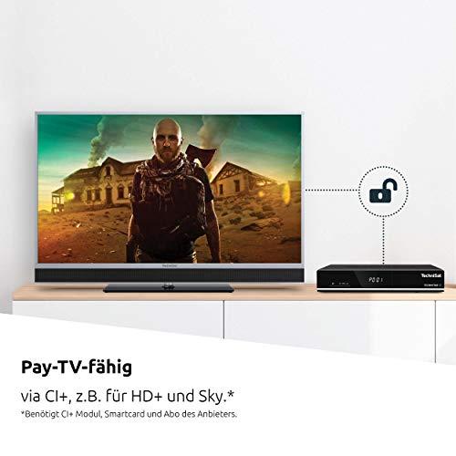 TechniSat TECHNISTAR S5 - HDTV Satelliten-Receiver (DVB-S/DVB-S2 HD Receiver, PVR Aufnahmefunktion und Timeshift, HDMI, CI+ Schnittstelle, Ethernet, USB, Unicable tauglich, Serientimer) schwarz