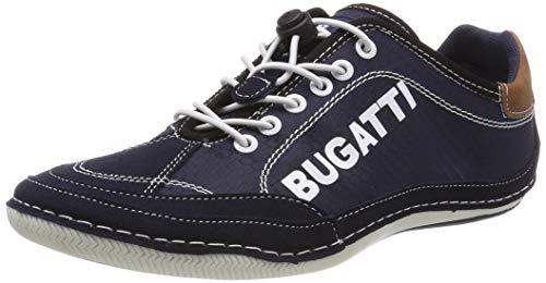 bugatti Herren 321480075400 Sneaker, Blau, 44 EU