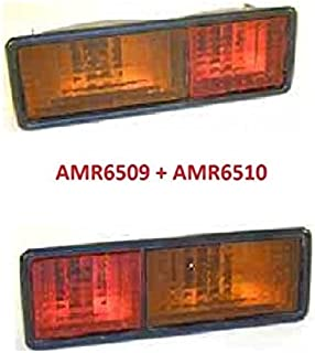 Land Rover Discovery 1 94-99 Rear Bumper Lights Set LH+RH AMR6509 AMR6510 New