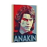 HZHI Poster, Anakin Skywalker, dekoratives Gemälde,