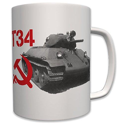 Tanque T34T 34Rusia Soviética Militar