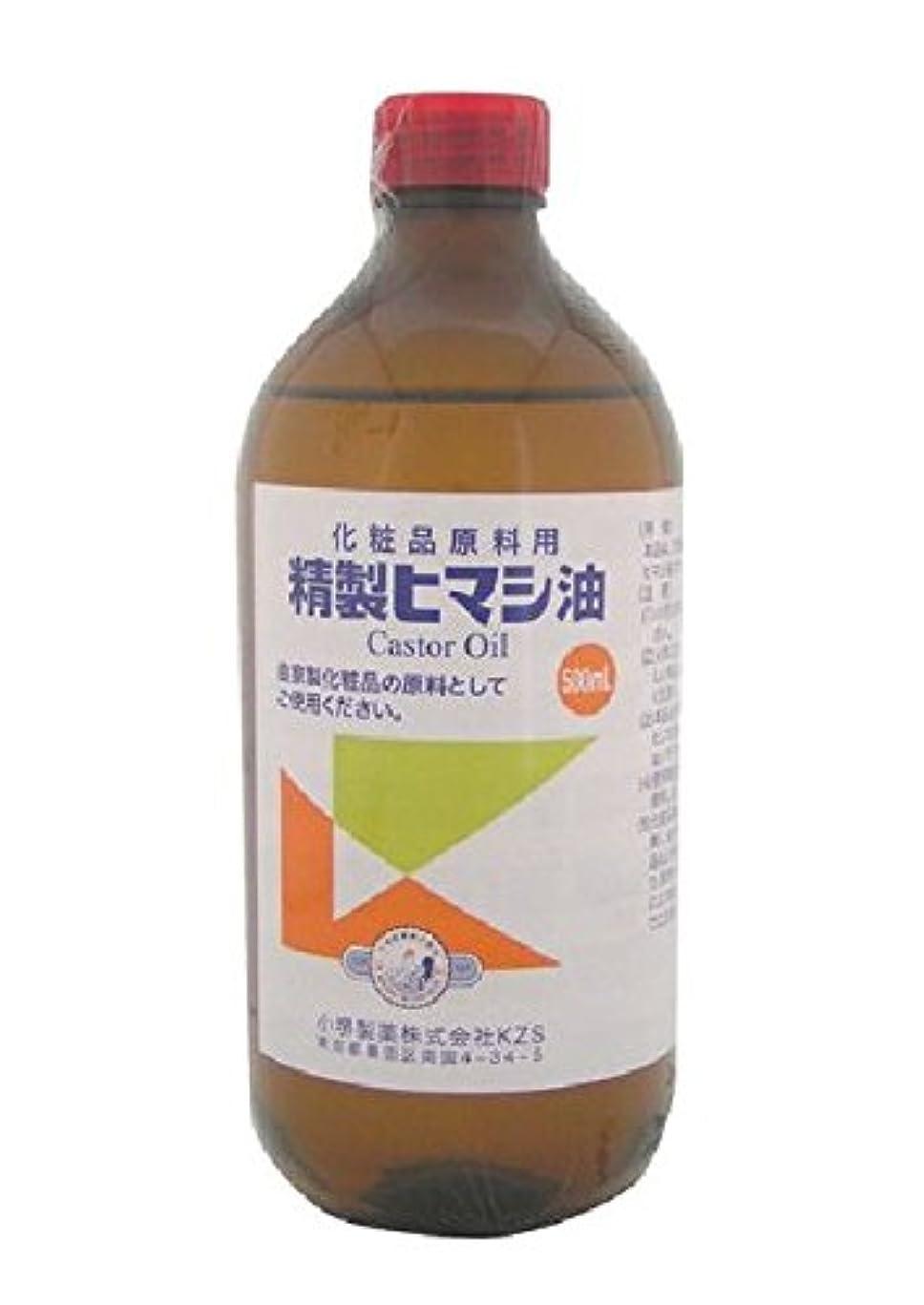 受取人タンパク質先のことを考える小堺製薬 新精製ヒマシ油 500mL