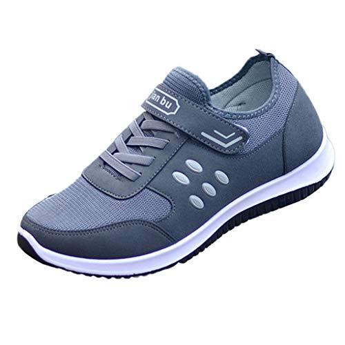 Heren dames unisex klittenbandsluiting turnschoenen sneaker mannen outdoor mesh ademende sportschoenen runing schoenen casual gymschoenen By Vovotrade