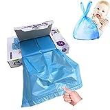 Disposable Diaper Bags for Baby, Diaper Sacks...