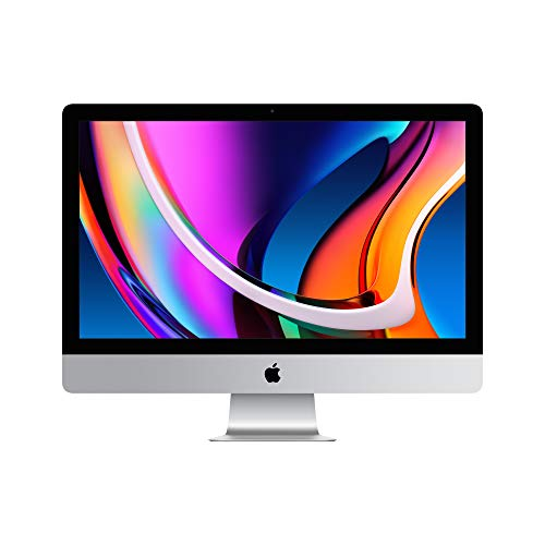 2020 Apple iMac Écran Retina5K (27pouces, 8Go RAM, 256Go SSD stockage)