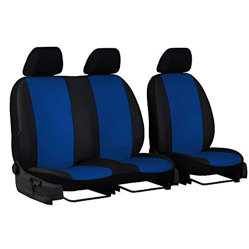 Universele autostoelhoezen voor Mercedes Sprinter II tot 06 bus 1 + 2 stoelhoezen voor blauw