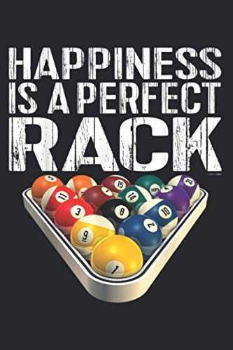 Funny Pool Perfect Rack Billiards: Management Notebook - Perfect size, 112 Pages